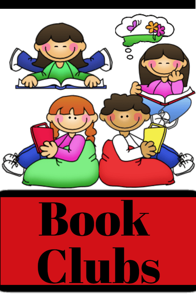 Book Clubs for Reading Comprehension! Book clubs (literature circles) are for independent readers who need a challenge of an in-depth book discussion and book study using the text. Students work together to complete word work, summaries, retell, text connections, and writing while using the same books.  #reading #smallgroup #bookstudy #discussion #tpt #classroom #firstgrade