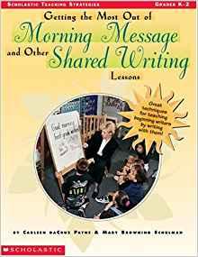 Shared Writing Books for Teachers