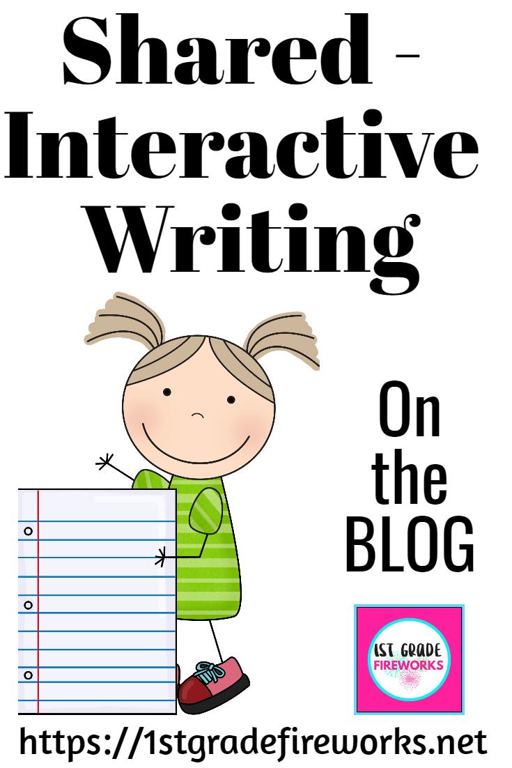 Shared - Interactive Writing