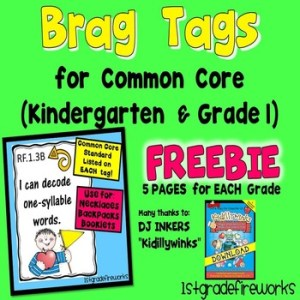 2019 is the year of Balanced Literacy! Brag Tag FREEBIE!