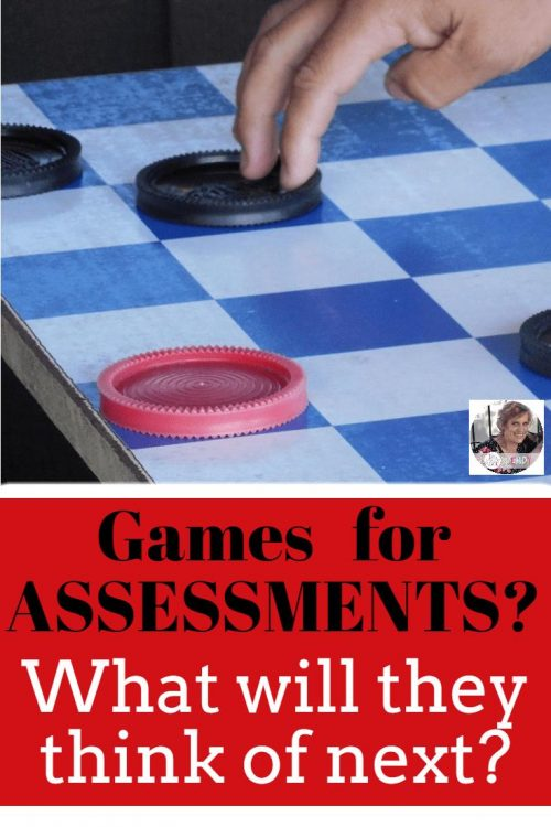 Do YOU use games for Assessments? We do! How to use games ( whole class, partners, and small groups ) to assess students. These assessments will help guide your instruction. https://1stgradefireworks.net   #fall #games #assessments #classroom #September
