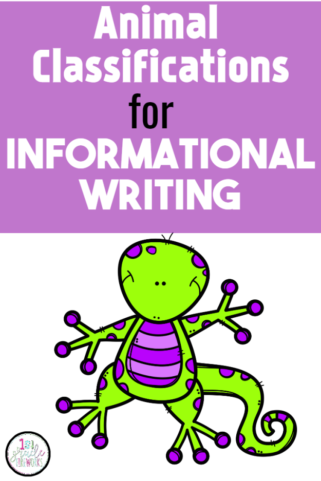 Animal Classifications for Informational Writing. How to integrate CCSS science standards into a balanced literacy classroom.