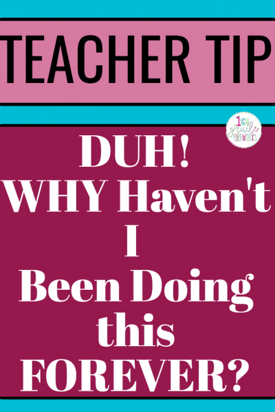 Teacher Organization for ALL! Work Smarter, Not Harder. Making the classroom a more functional and organized place for ALL! Teacher Tips for ALL grades.