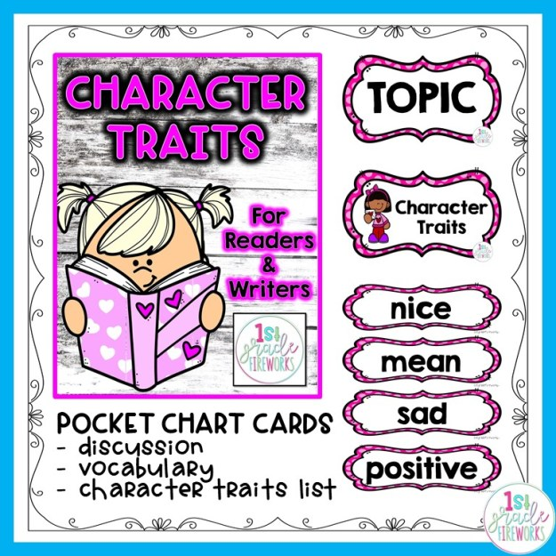 Character Traits for young kids.