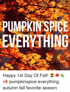 """When is it """"officially"""" FALL?"""