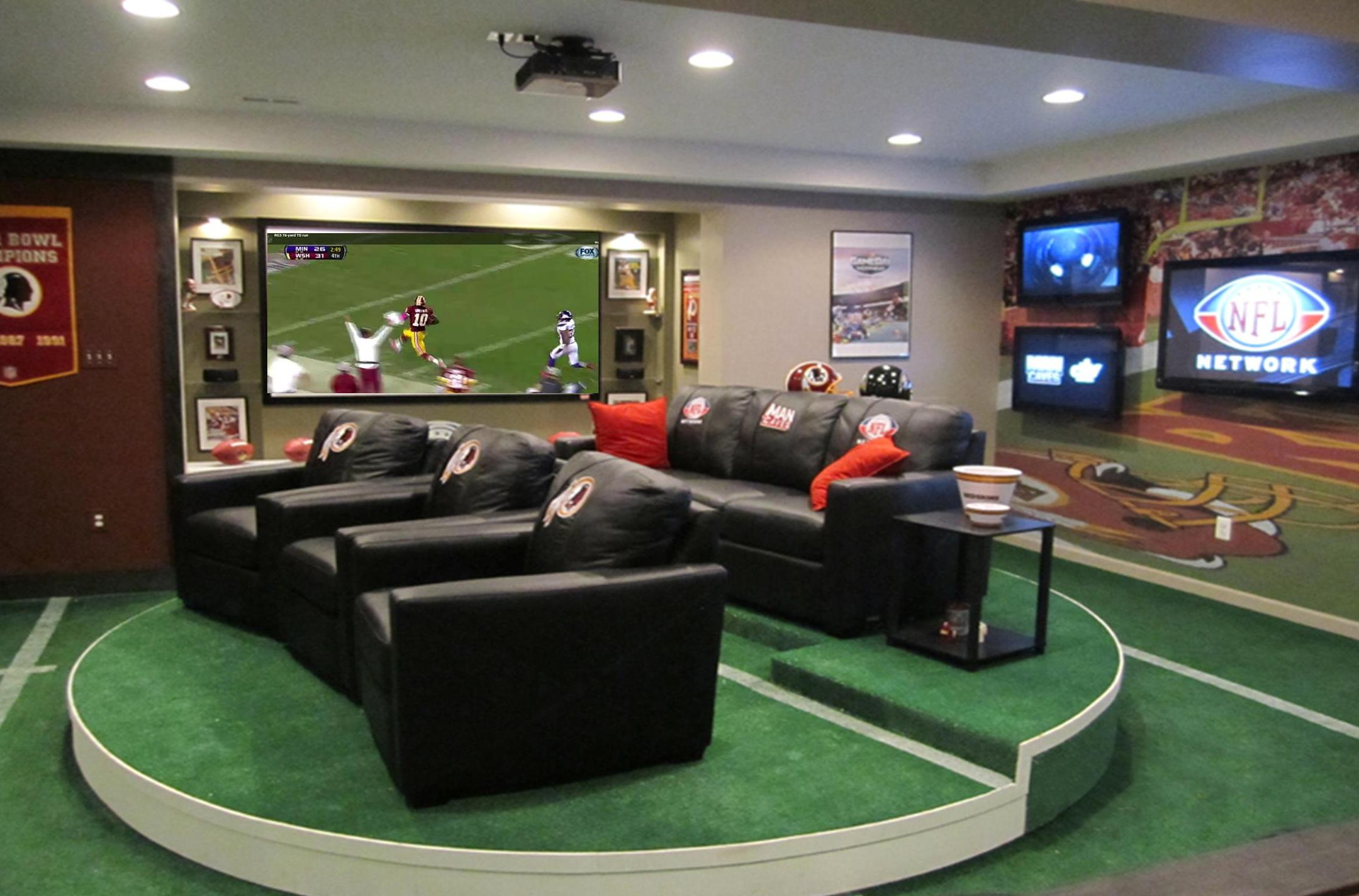 Check out these Man Caves There is No better place to