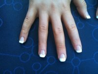 White Tip Nails | Joy Studio Design Gallery - Best Design