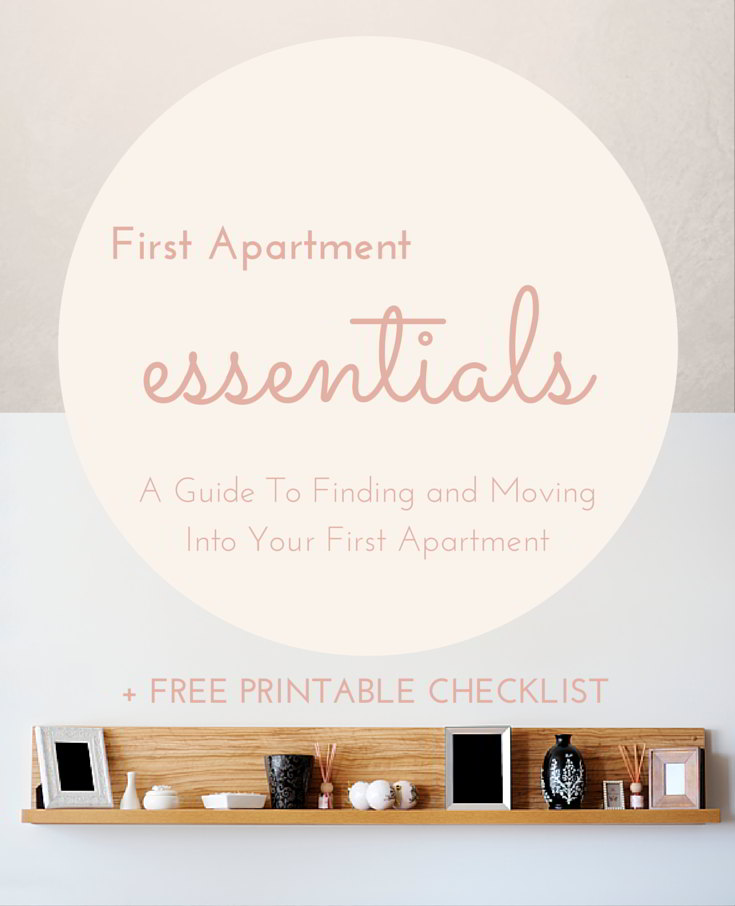 1st Lake  First Apartment Essentials Checklist and Guide