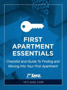 Moving Into Your First Apartment Feeling Stressed Check Out This Essentials Checklist