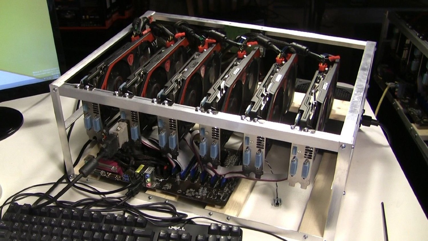 cryptocurrency mining computer build