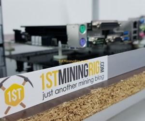 Aluminum Mining Rig Open-Air Frame 46