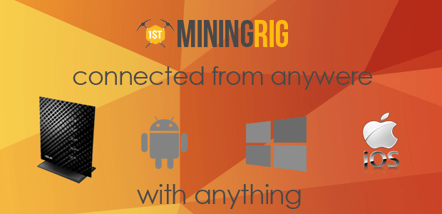 Connect To Your Mining Rig From Different Location or Device