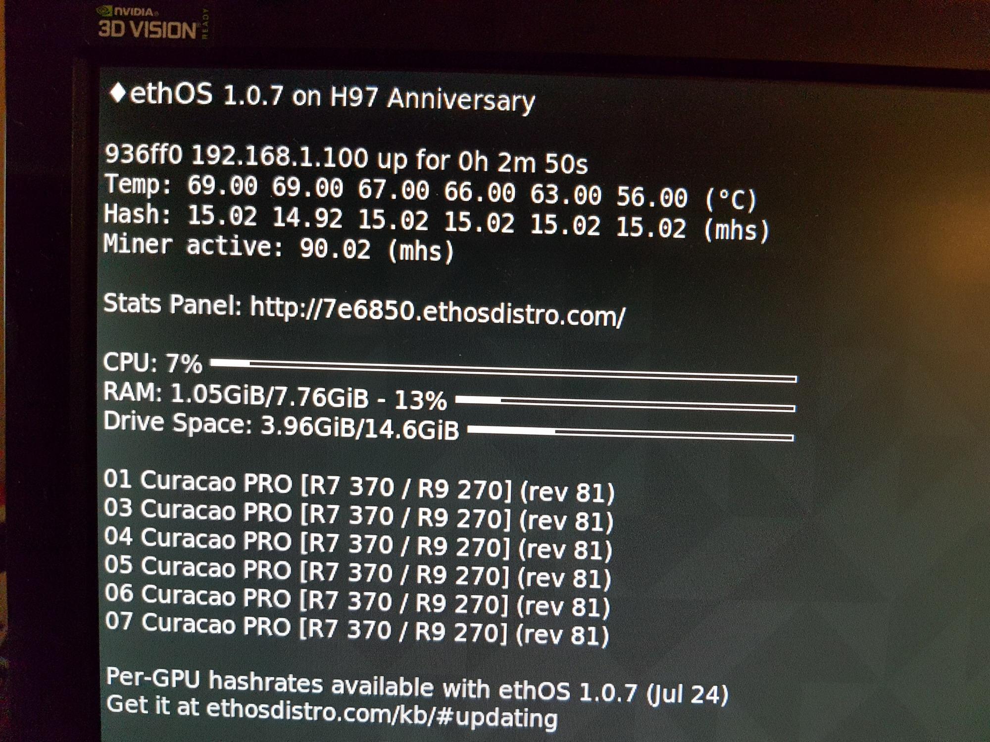 Mining Monero With Amd Radeon Rx 560 4gb 128bit Zcash Live Usb