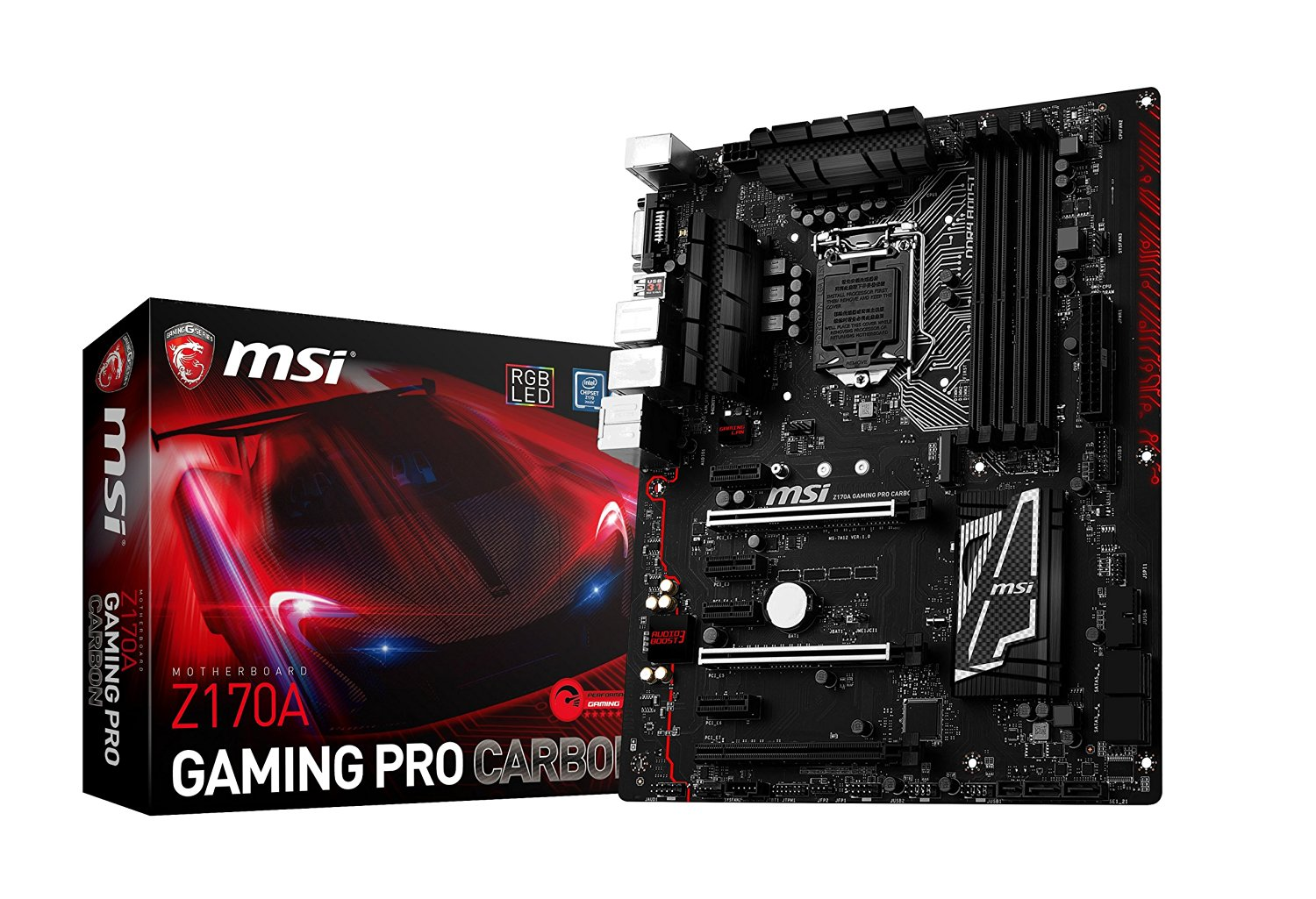 Msi Z170a Gaming Pro Carbon Motherboard Review Mining