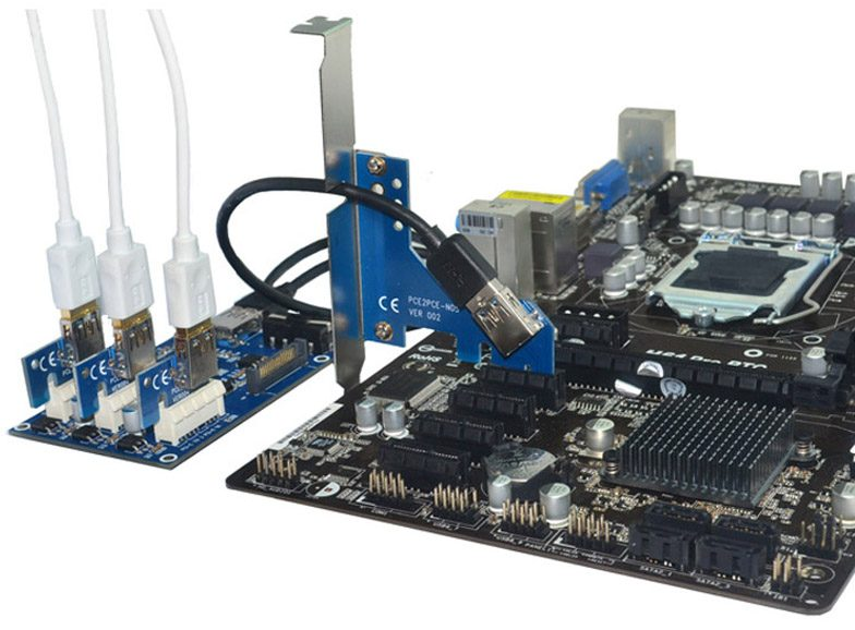 Pci Express 1 To 3 Pci E 1x Slots Riser Card Is It Worth