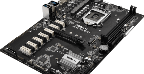 asrock h110 pro btc+ 13gpu mining motherboard cryptocurrency review