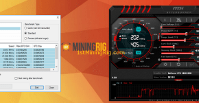 Gigabyte GeForce GTX 1060 6GB Nicehash Mining Benchmark 3