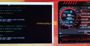 MSI GeForce GTX 1050 TI GAMING X 4G Dual Mining Ethereum and Siacoin Performance