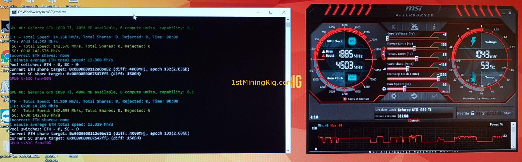 best cryptocurrency to mine using gtx 1060
