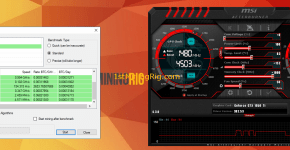 MSI GeForce GTX 1050 TI GAMING X 4G Nicehash Mining Mining Performance and Profits 4