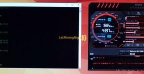 MSI GeForce GTX 1050 TI GAMING X 4G ZCash Mining Hashrate Performance Overclocked