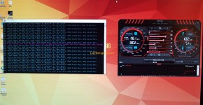 Gigabyte GeForce GTX 1070 8GB Mining Rig Hashrate 1