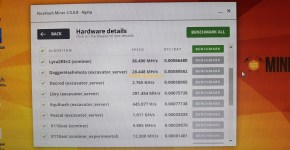 Gigabyte GeForce GTX 1070 8GB Mining Rig Nicehash Benchmark 5