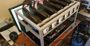 Nvidia GeForce Gigabyte GTX 1070 G1 Gaming Ethereum Dual Mining Decred Mining Rig Setup 3