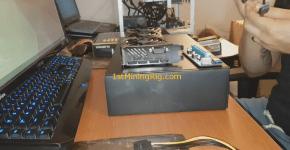 Nvidia Gigabyte GTX 1070 G1 Gaming USB Riser connection 1