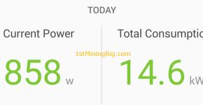 ethereum dual mining siacoin dag epoch hashrate drop power draw