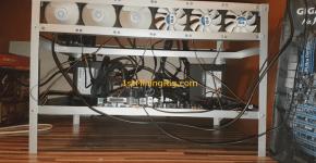 mining rig with 1x GPU start 1