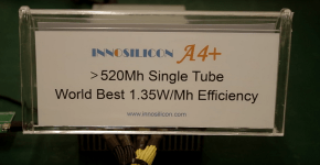 Innosilicon A4+ ASIC Hashrate