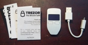 trezor hardware wallet unboxing review