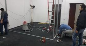 1stMiningRig Aluminum Bars Install 2