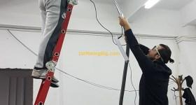 1stMiningRig Aluminum Bars Install