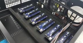 1stMiningRig Rackmount Server Case USB Riser Standoffs