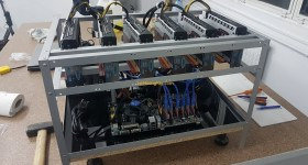 1stMiningRig Sapphire Pulse RX 580 8 GB Mining Rig 1