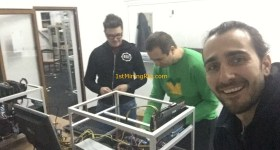 1stMiningRig Working on Mining Rigs 7