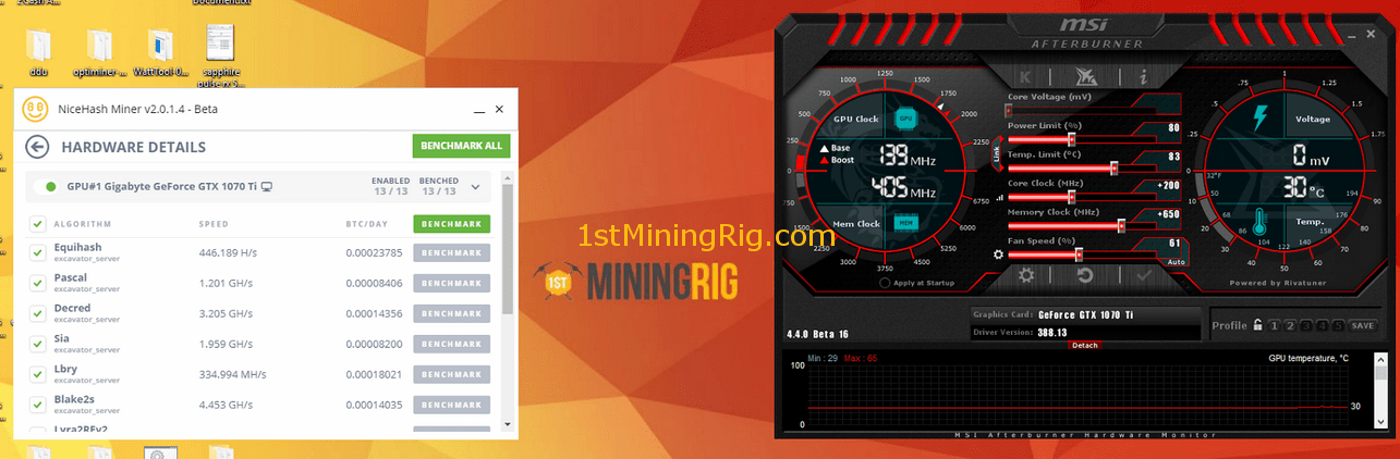 gtx mining 1070 cryptocurrency