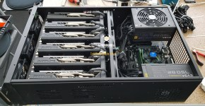Sapphire RX 580 8GB Mining Rig Rackmount Server Case 4