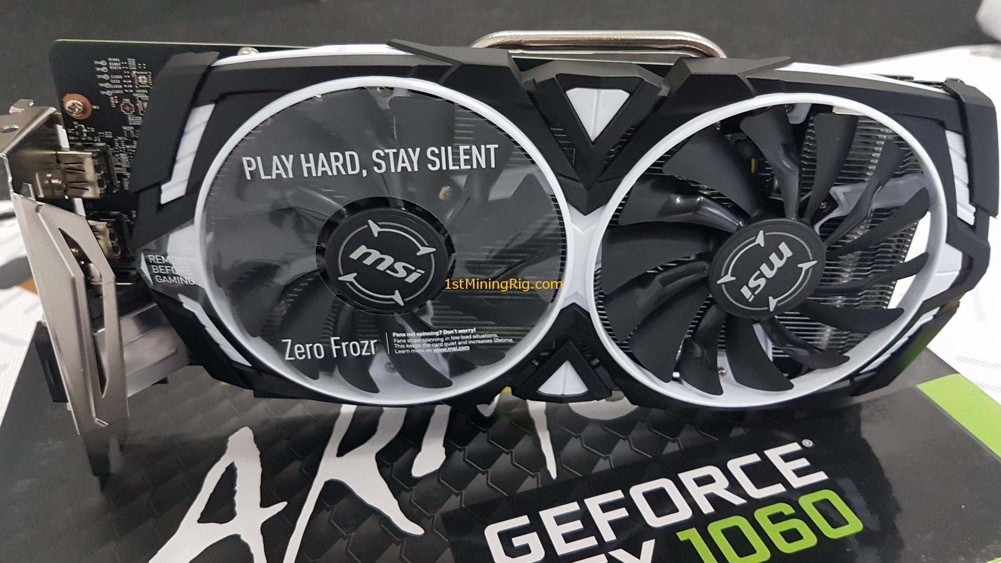 Gtx 1060 Fan Not Spinning