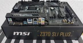 MSI Z370 SLI PLUS Unboxing 5