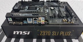 MSI Z370 SLI PLUS Unboxing 5
