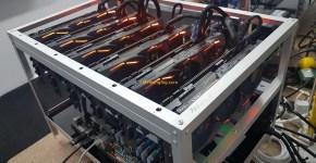 Asus Strix GeForce GTX 1080 Ti 6x GPU Mining Rig 1