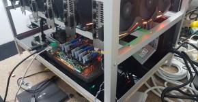 Asus Strix GeForce GTX 1080 Ti 6x GPU Mining Rig 2