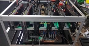 Asus Strix GeForce GTX 1080 Ti 6x GPU Mining Rig 3