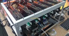 Asus Strix GeForce GTX 1080 Ti 6x GPU Mining Rig 4
