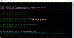 RX 580 4GB Mining Rig Ethereum Dual Mining Smartcash KECCAK hashrate