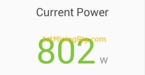 rx 470 4gb mining rig Ethereum dual mining Smartcash keccak power consumption