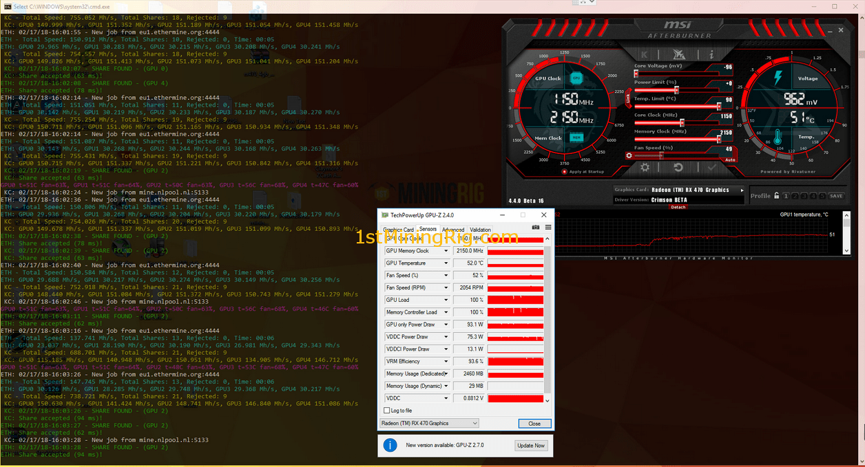 Msi Rx 580 Hashrate Multi Coin Mining Pool While mining cryptonight based cryptocurrencies the rx 580 can achieve 685 to 690 h/s. the new masculine program